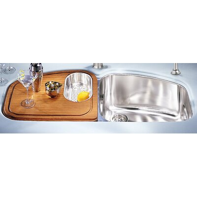 45.44 x 20.88 Vision Double Bowl Kitchen Sink