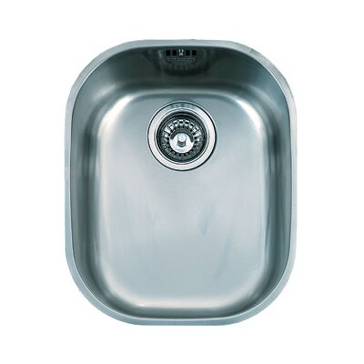 14.19 x 17.19 Compact Single Bowl Kitchen Sink