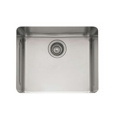 Kubus 23.25 x 17.31 Single Bowl Kitchen Sink