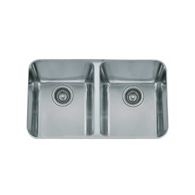 31.38 x 19.5 Largo Double Bowl Kitchen Sink