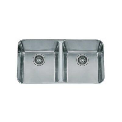 34 x 19.63 Largo Double Bowl Kitchen Sink