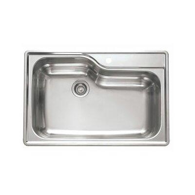 """Franke Prestige 22.25"""" x 19.88"""" Classic Undermount Kitchen Sink"""