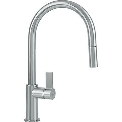 Ambient Single Handle Deck Mounted Kitchen Faucet with Pull Down Spray