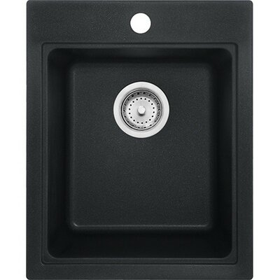 Quantum 20.5 x 13.55 Single Bowl Kitchen Sink