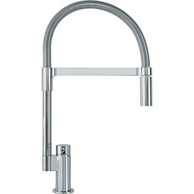 Manhattan Pull Down Single Handle Kitchen Faucet Finish: Polished Chrome