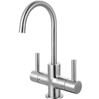 Little Butler Double Handle Deck Mounted Kitchen Faucet