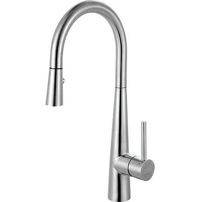 Single Handle Deck Mounted Kitchen Faucet with Pull Out Spray