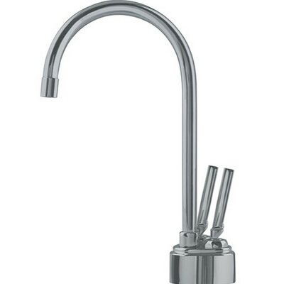 Twin Double Handle Deck Mounted Kitchen Faucet