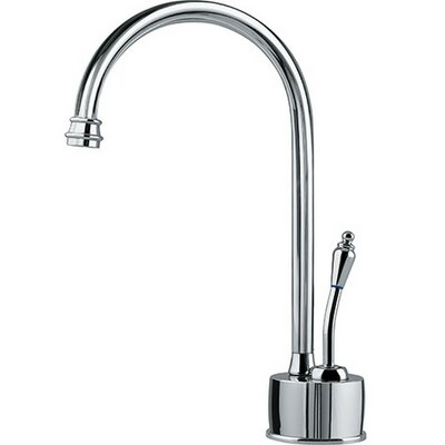 Farmhouse Hot Water Dispenser with Swivel Spout Finish: Polished Chrome