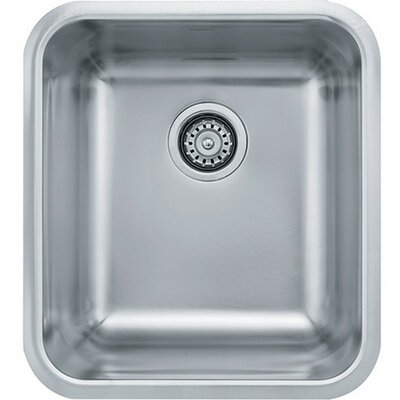 Grande 16.75 x 18.75 Single Bowl Kitchen Sink