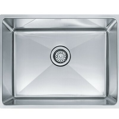 Professional Series 17.625 x 22.5 Undermount Single Bowl Kitchen Sink