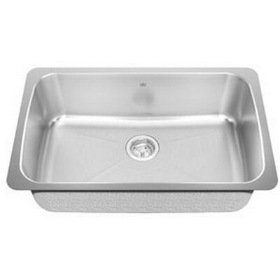 Kindred 30.13 x 19.13 Undermount Single Bowl Kitchen Sink