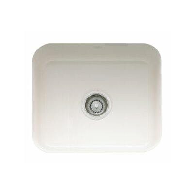21.44 x 17.31 Cisterna Fireclay Undermount Kitchen Sink Finish: Biscuit