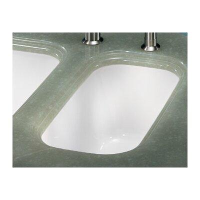 10.25 x 17.31 Cisterna Fireclay Undermount Kitchen Sink Finish: White