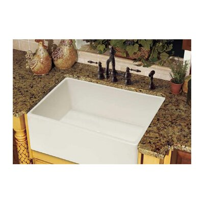Farm House 30.13 x 20 Fireclay Apron Front Kitchen Sink Finish: Linen