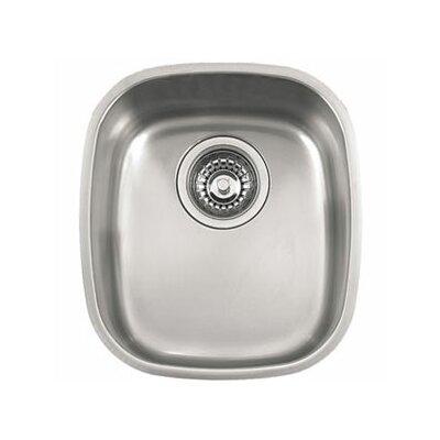 12.56 x 14.19 Compact Single Bowl Kitchen Sink