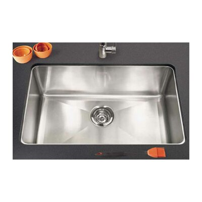 Professional 29.13 x 18.13 Under Mount Kitchen Sink