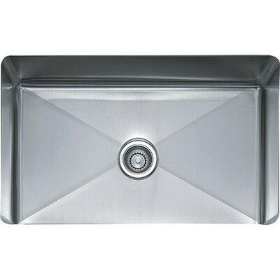 Professional 31.5 x 18 x 9.5 Series Single Bowl Kitchen Sink