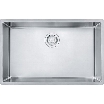 Cube 28.5 x 17.75 Single Undermount Kitchen Sink