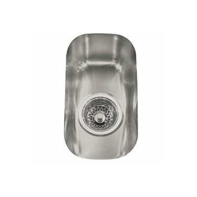 13.38 x 7.5 Element Undermount Single Bowl Kitchen Sink