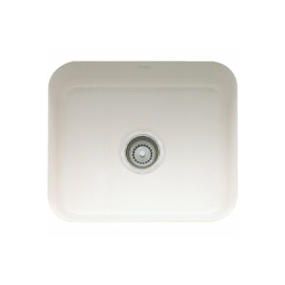 14.56 x 17.13 Cisterna Fireclay Undermount Kitchen Sink Finish: Biscuit