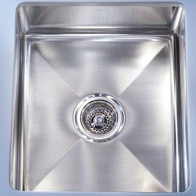 Professional 14.56 x 19.5 Under Mount Kitchen Sink