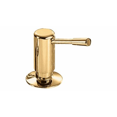 Lotion Dispenser Finish: Brass