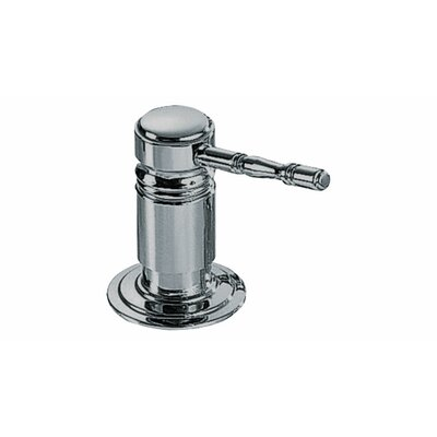 Royal Lotion Dispenser Finish: Polished Nickel
