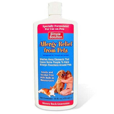 Simple Solution Topical Treatment for Allergy Relief from Pets - 16 oz - Type: For Dogs and Cats at Sears.com