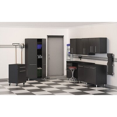 Ulti-MATE Garage 7' H x 2' D 9-Piece Deluxe Storage System with Workstation