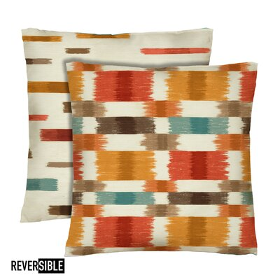 Barnaby Cotton Throw Pillow Color: Spice