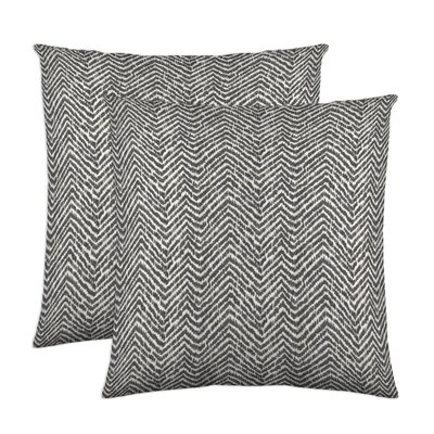 Citizen Throw Pillow Color: Charcoal