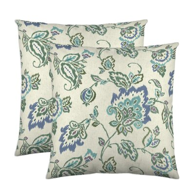 Dharma Throw Pillow Color: Lagoon