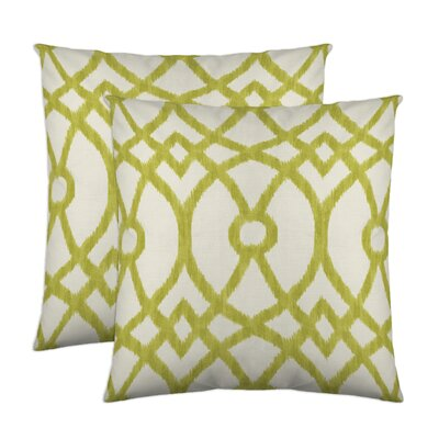 Piper Throw Pillow Color: Citrus