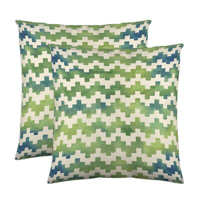 Pixie Cotton Throw Pillow Color: Moss