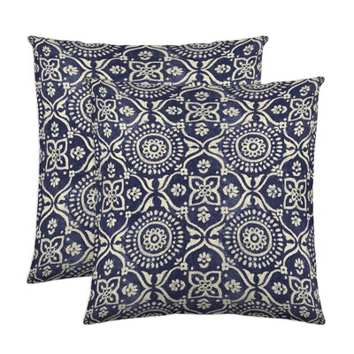 Adara Throw Pillow Color: Ink