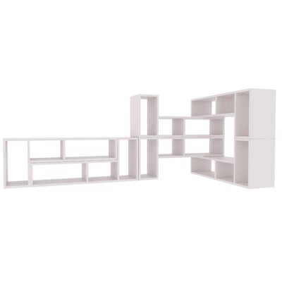 Domino 67 Bookcase Finish: Matte White Product Image 527