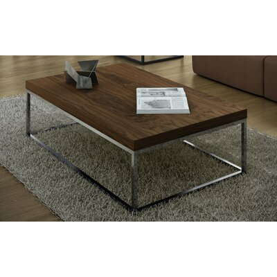 Prairie Coffee Table Color: Chrome