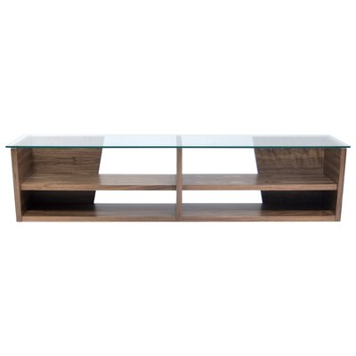 Oliva 67 TV Stand Color: Walnut