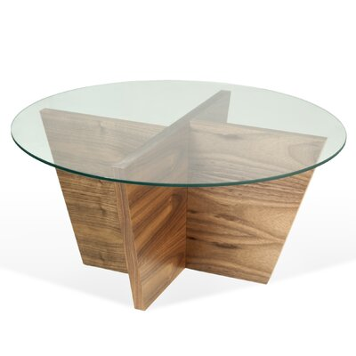 Oliva End Table Color: Walnut