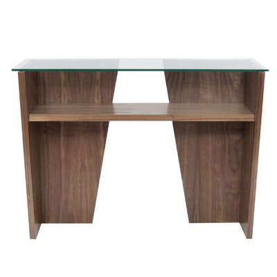 Oliva Console Table Finish: Walnut