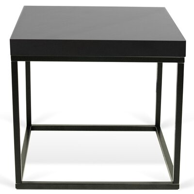 Prairie End Table Color: Black Lacquered