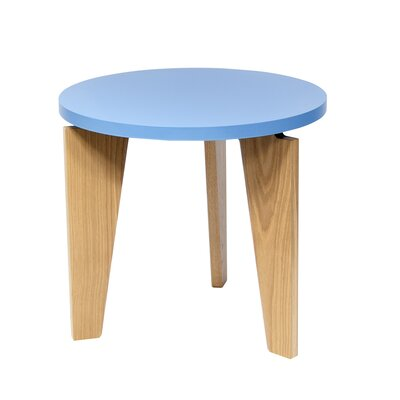 Magnolia End Table Table Top Color: Light Blue