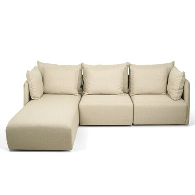 Dune Sectional Upholstery: Beige, Orientation: Left Hand Facing