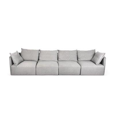 Dune Modular Sofa Upholstery: Track Gray