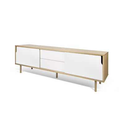 Dann Sideboard Finish: Oak / Pure White