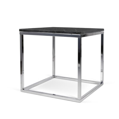 Prairie End Table Finish: Black / Chrome