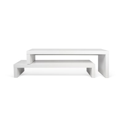 Cliff 49 TV Stand Color: Pure White