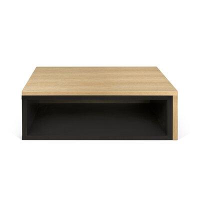 Jazz Coffee Table Top Finish: Pure Black / Oak