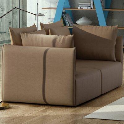 Dune Modular Loveseat Upholstery: Beige